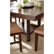 steve silver ed400 eden dining table with 16 leaf homeclick com