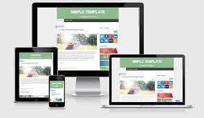download simple responsive blogger template maxikom template