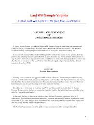 Template Wills by Last Will Sle Virginia 1 728 Jpg Cb 1282191469