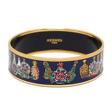 hermes bracelet images Hermes flacons enamel wide bracelet gm 70 madison avenue couture jpg