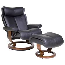 Reclining Lounge Chair Stressless Recliners Magic Large Recliner And Ottoman By