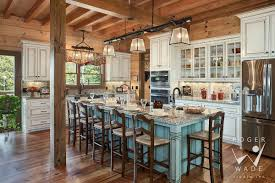 what an adorable log home kitchen log cabin kitchen pinterest
