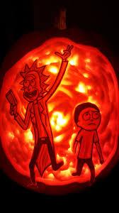 Meme Pumpkin Stencil - rick and morty portal pumpkin carving album on imgur