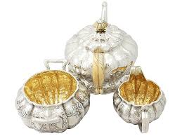 silver matching services antique sterling silver tea service george iv