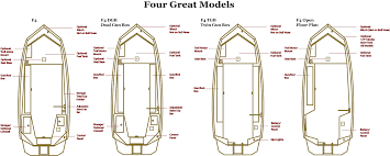 Aluminum Boat Floor Plans by Excelboats