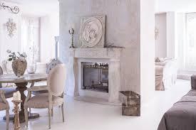 camino stile provenzale villa respiro casa shabby chic brianza camino bifacciale my