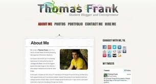 Personal Website Resume Examples the ultimate guide to building a personal website college info geek