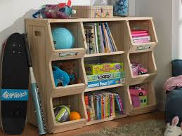 Plans For Freestanding Storage Shelves by Kids Bookshelf Storage Shelves System Cubby Greenhome123