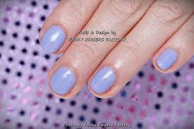 gelish pastel lilac nails funky fingers factory