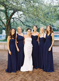 navy blue bridesmaids dresses 56 best images about bridesmaid dresses on wedding