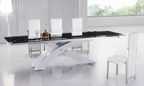 Dining Table Modern by Modern Black Glass Dining Table U2013 Table Saw Hq
