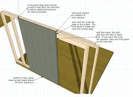 How To Build A 8x8 Shed From Scratch by Double Shed Doors