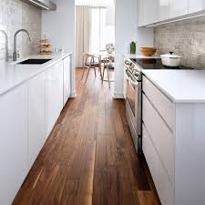 brushed walnut adds character to kitchen makeover kentwood floors