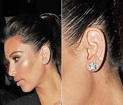 kris jenner diamond earrings k diamond earrings beautify themselves with earrings