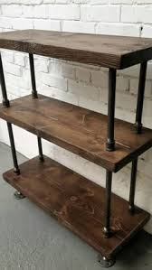 Building Wood Bookcases by Barritt Antique Nutmeg Wood Metal Bookcase For Purchase