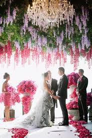 wedding backdrop of flowers 19 stunning ceremony backdrops brit co