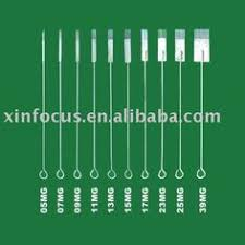 5pcs professional sterilized round shader tattoo needles 18rs