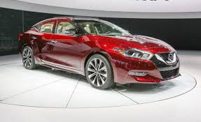 2016 nissan maxima debuts in new york u2013 news u2013 car and driver