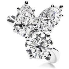harry winston diamond rings harry winston rings diamond rings three cluster dia