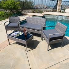 Inexpensive Wicker Patio Furniture - furniture pc rattan wicker patio furniture set sofa chair table