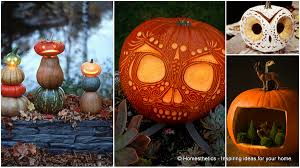 greet halloween with fun creative diy pumpkin decorations