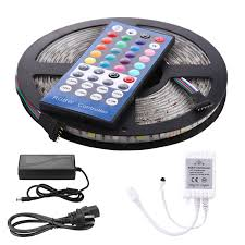 amazon com leh led lights rgbw light strip waterproof 5050