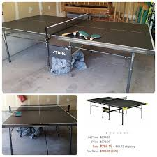 Tiga Ping Pong Table by Find More Stiga Table Tennis Ping Pong Table Great Used Condition