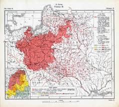 Europe 1939 Map by A 1921 Map Of Polish Majority Areas In Europe After The End Of