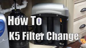 how to k5 filter change youtube