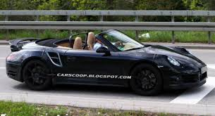 porsche 911 back seat porsche s 911 turbo convertible gets out in the open