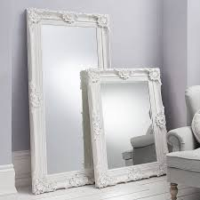 Bedroom Wall Mirrors Uk Mirror With White Frame 70 Enchanting Ideas With W Framed Wall