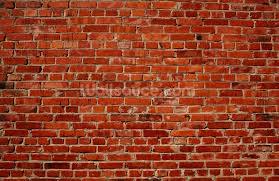red brick wall wallpaper wall mural wallsauce usa red brick wall wall mural photo wallpaper