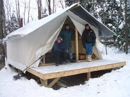 put the tent up on a platform tent platforms pinterest