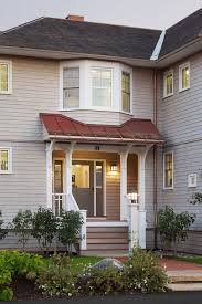 Standing Seam Metal Awning Arched Copper Awning Exterior Farmhouse With Standing Seam Metal