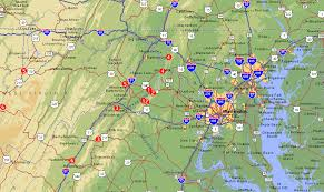 me a map of maryland ted s house garage rides the peidmont loop