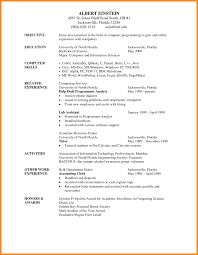 how to write simple resume resumes objectives for students