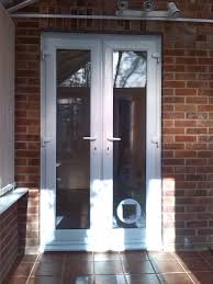 cat flap for glass double glazed door image collections glass