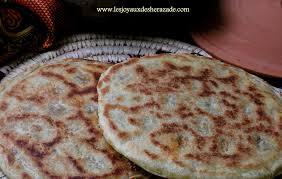 recette de cuisine kabyle galette kabyle recette de kesra farcie les joyaux de sherazade
