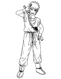 goku coloring pictures coloring home