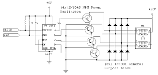 stepper motor control circuit diagram u2013 readingrat net