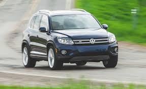 volkswagen suv 2015 2015 volkswagen tiguan fwd instrumented test u2013 review u2013 car and driver