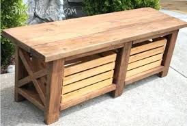 Outdoor Benches Canada Outdoor Wood Storage Bench U2013 Amarillobrewing Co