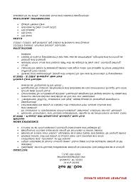 exle it resume resume of nursing exle resume of nursing assistant certified exles
