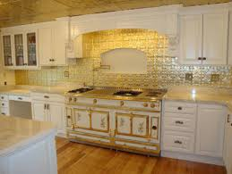Tin Backsplash Kitchen Backsplashes Eclectic Kitchen Tampa - Tin ceiling backsplash