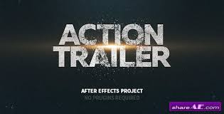 videohive action trailer free after effects templates after