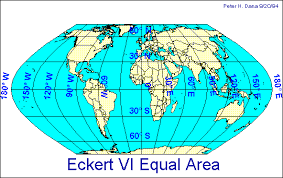 what is a map projection map projections