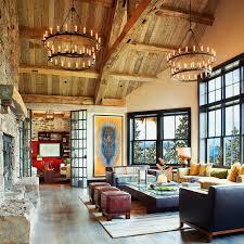 Stunning Mountain Home Interior Design Ideas Contemporary
