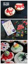 halloween pop rock cupcakes a and a glue gun
