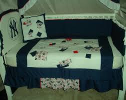 Yankees Crib Bedding Yankees Nursery Etsy