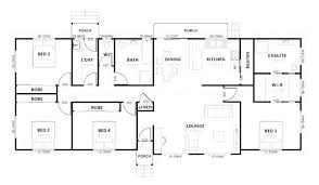 4 bedroom home plans simple 4 bedroom house plans amazing simple house plan with 2